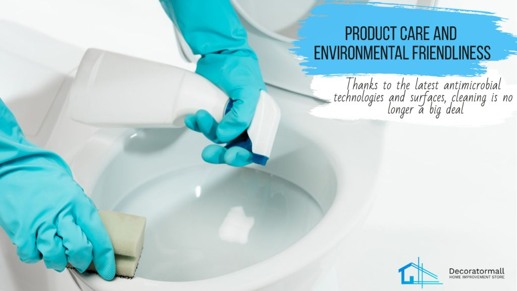 Product care and environmental friendliness